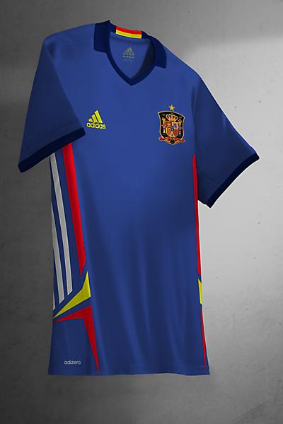 Spain Away Kit Adidas