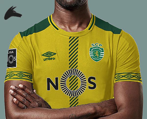 Sporting Lisbon x umbro third concept