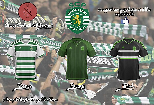 Sporting Portugal Adidas Concept 15/16