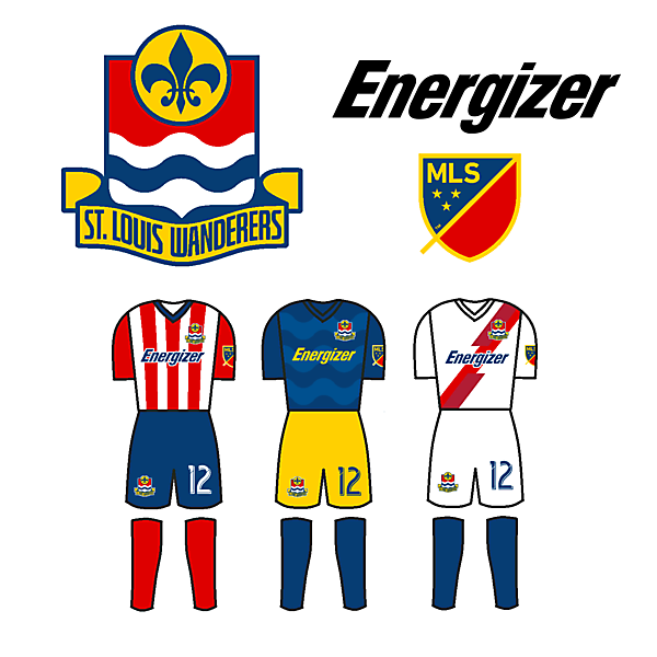 St. Louis MLS Crest and Kit Concept
