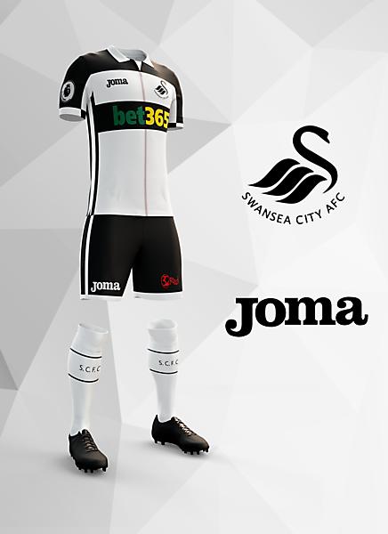 Swansea Home 2017/18 Concept