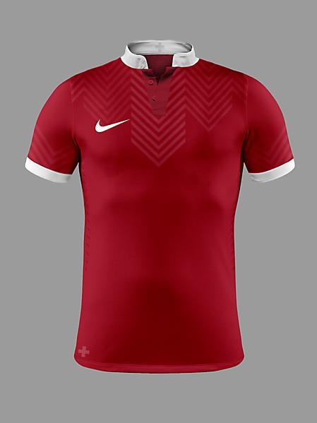Switzerland Euro 2016 Home Kit