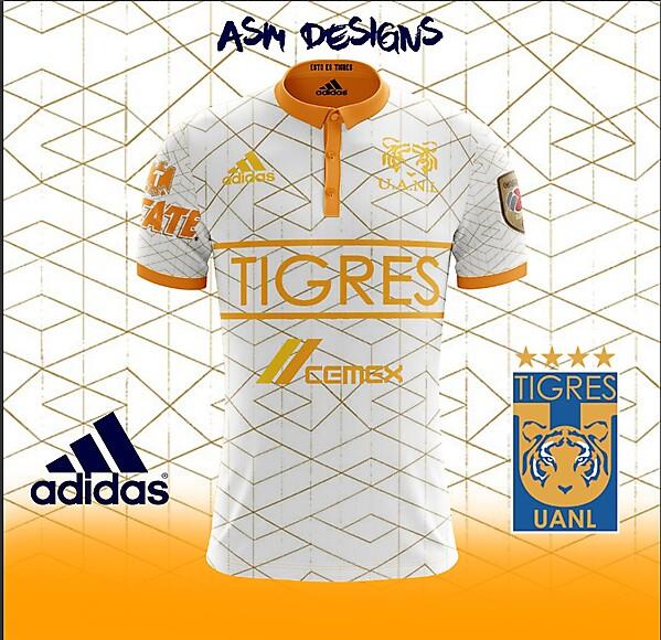 Tigres UANL 2018 Adidas Away Kit