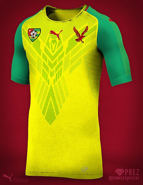 Togo 2018 Puma