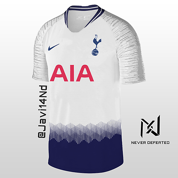 Tottenham Hotspur 18-19 Home Kit