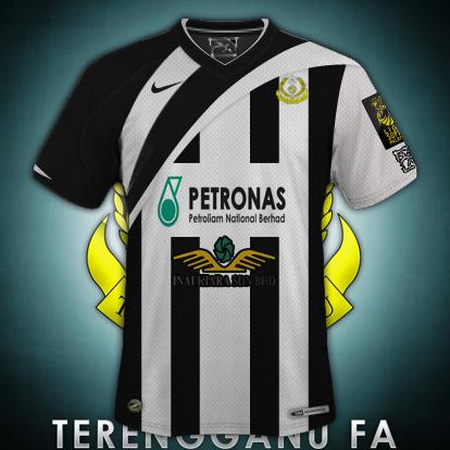 Terengganu FA 11/12 Away Fantasy Kit(NEW!!)