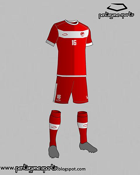 Turkey National Team Home Kit 2016
