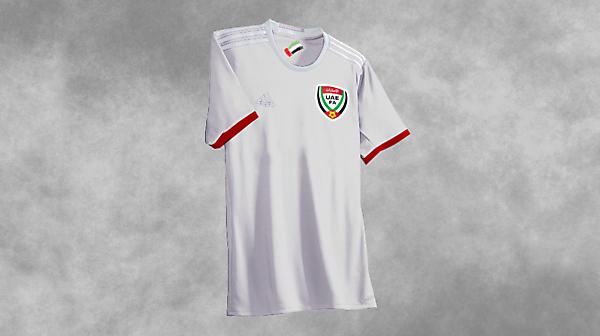UAE Football Kits Away 2017