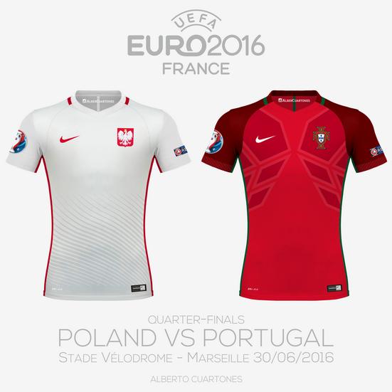 UEFA EURO 2016™ Quarter-Finals   Poland vs Portugal