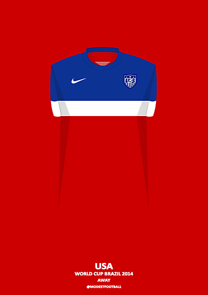 USA away shirt 2014