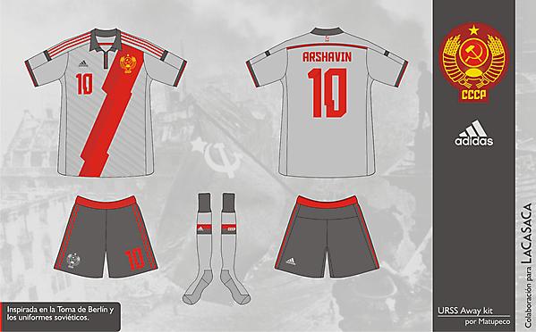 USSR World Cup 2014 Away Kit - Matupeco&LaCasaca