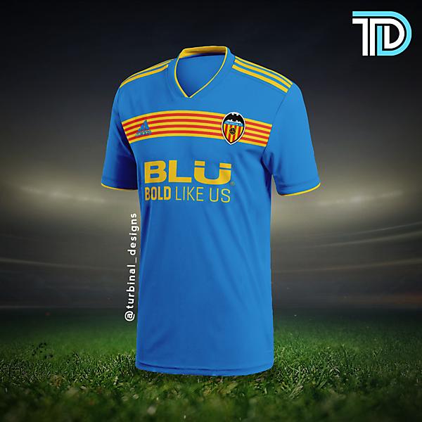 Valencia CF Third Kit Concept