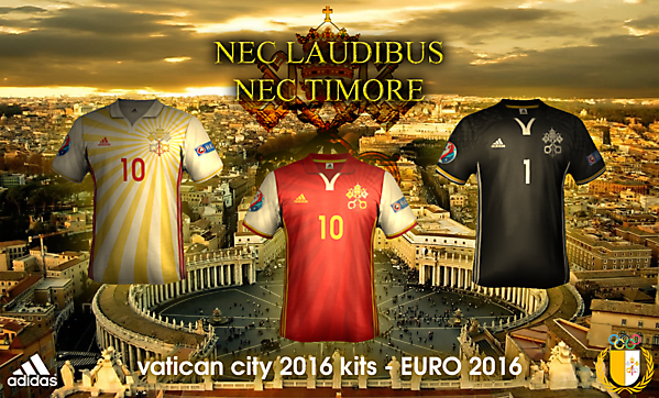 Vatican City EURO 2016 kits