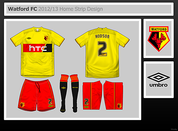 Watford FC Home Design