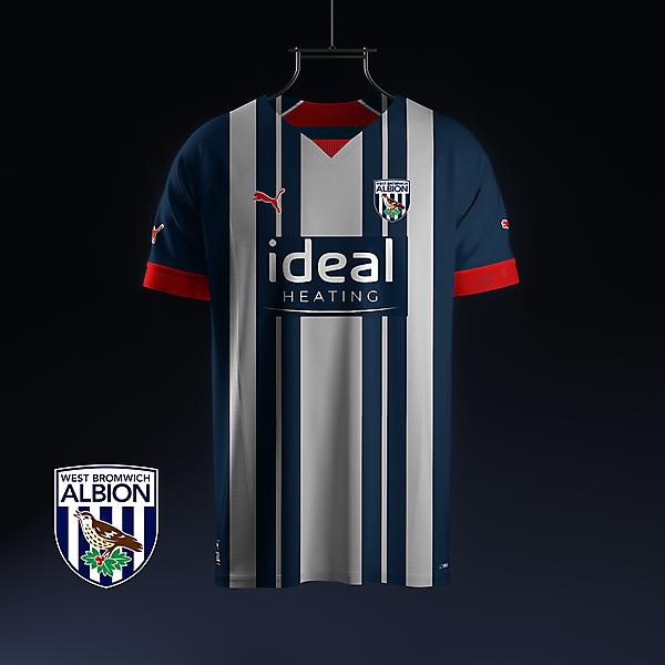 West Bromwich Albion home concept