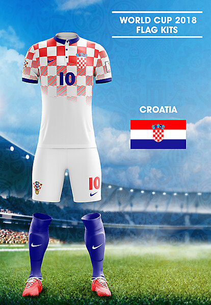 World Cup Flag Kit: CRO