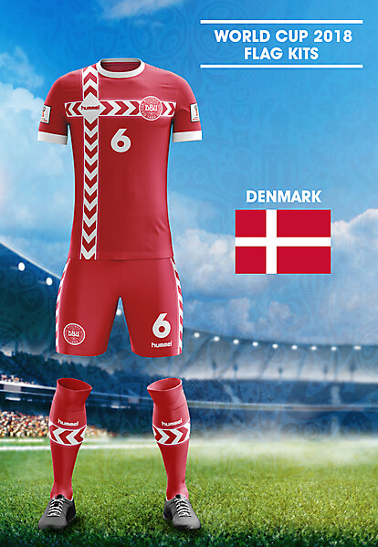 World Cup Flag Kit: DEN
