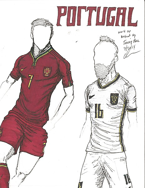 World Cup Project by Irvingperceni - Group G - Portugal