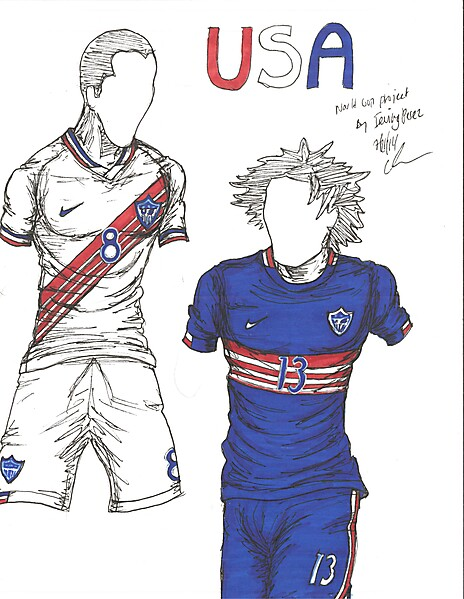 World Cup Project by Irvingperceni - Group G - USA