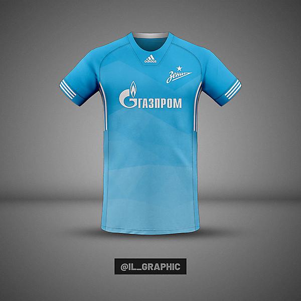 Zenit Home Kit x Adidas