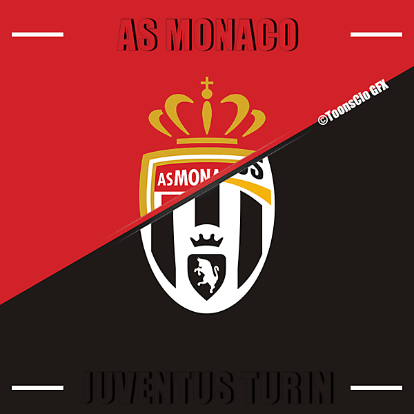 AS Monaco vs Juventus Turin