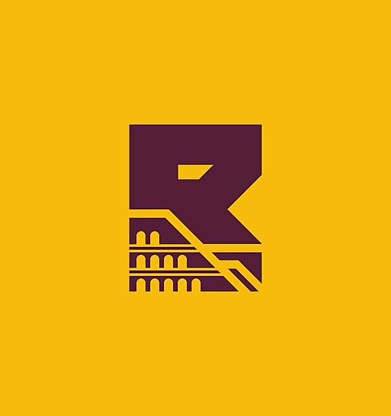 AS Roma alternative logo.