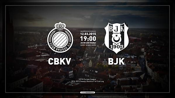 Club Brugge vs Besiktas JK