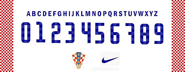 Croatia Font Concept