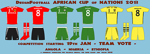 African Cup of Nations - Team competition vote