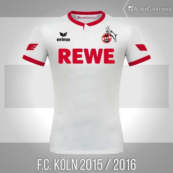 F.C. Köln 2015 / 2016 Home Shirt