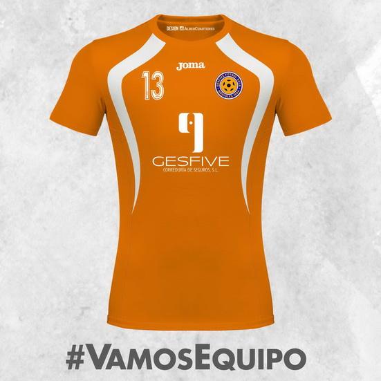 Gesfive Futsal Móstoles Home Shirt