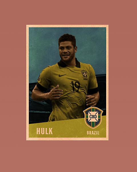 Hulk Vintage Style card