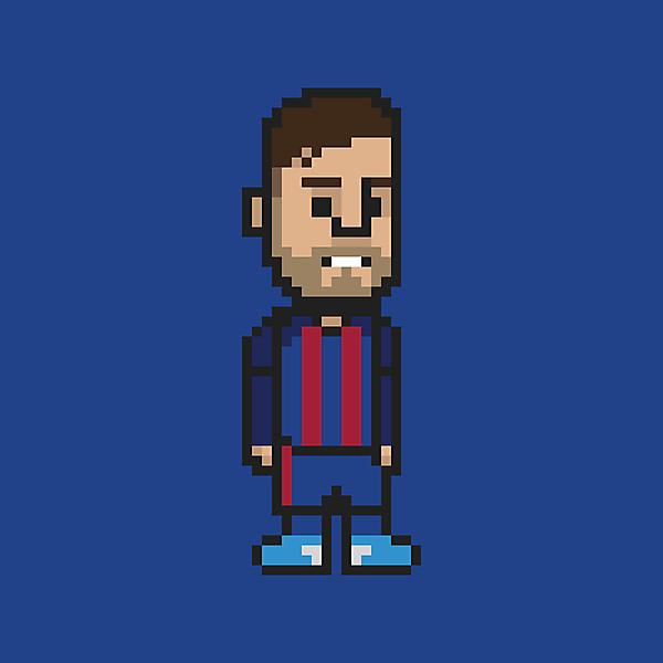 Lionel Messi • 8bit