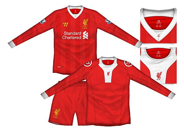 Liverpool Home Kit with baselayer