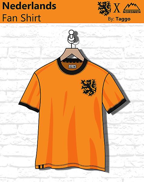 Nederlands Fan shirt