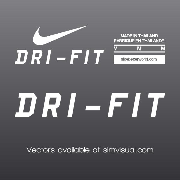 Nike Vector Labels