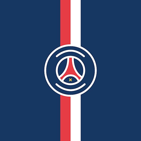 Paris Saint-Germain Minimalist