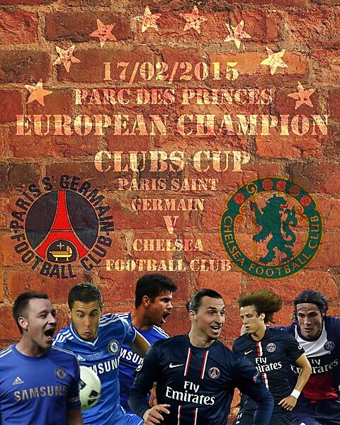 PSG - Chelsea Poster