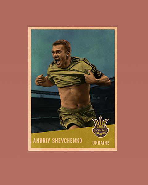 Shevchenko Vintage Style card