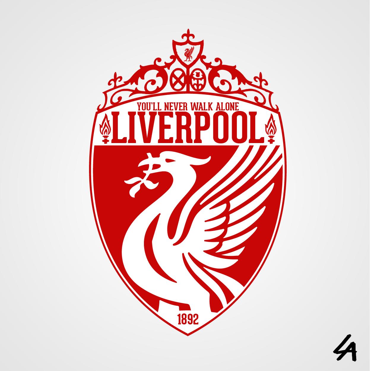 Liverpool Logo Bird Vector