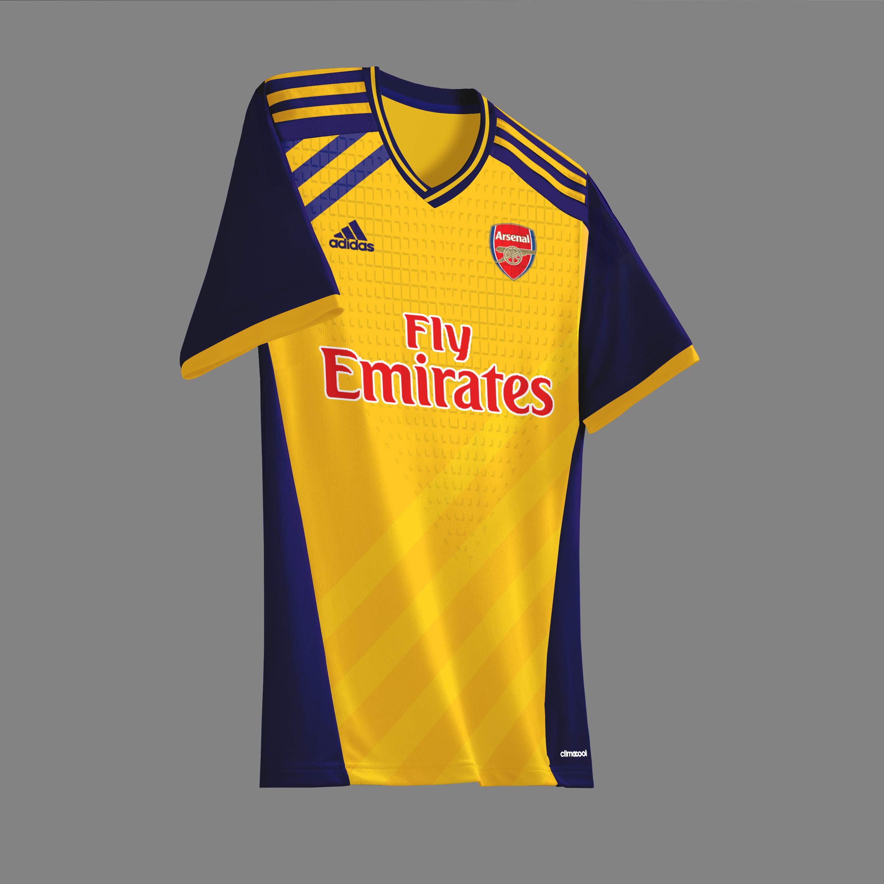 372530de8ad Arsenal x adidas away concept