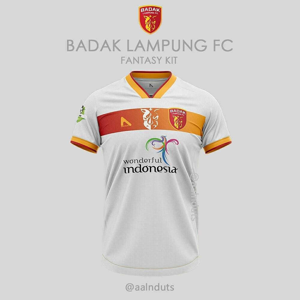 Badak Lampung FC - Away Badak Lampung