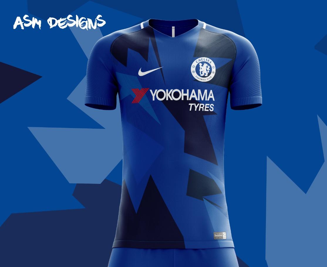 buy popular 04f49 dbc72 Chelsea F.C. Nike 2018 Home Kit