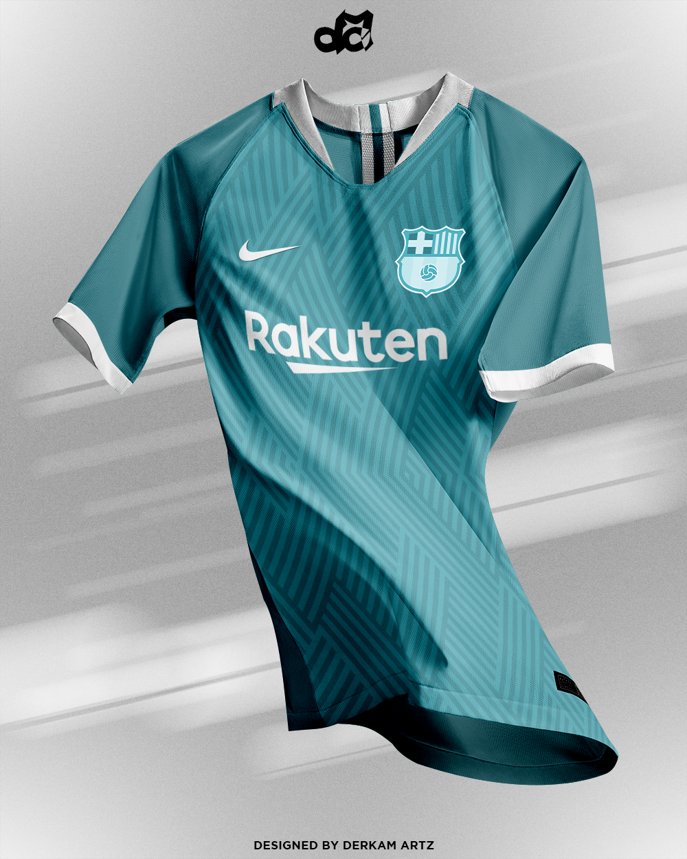 c925bf76 FC Barcelona - Third Kit | New Logo (2019/20)