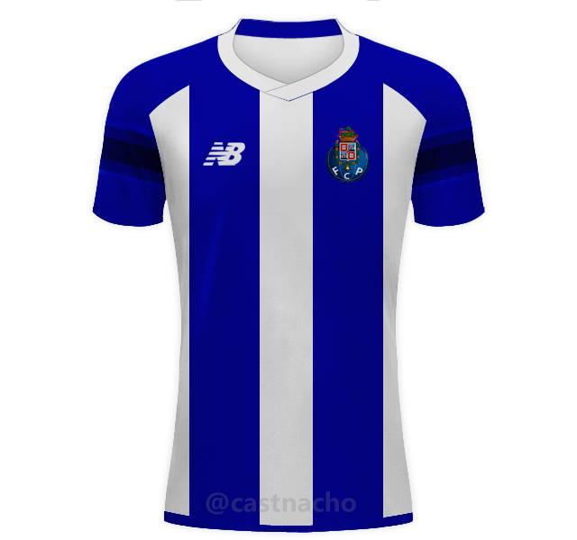 66c834695 FC Porto Home 2016/17 - New Balance Concept