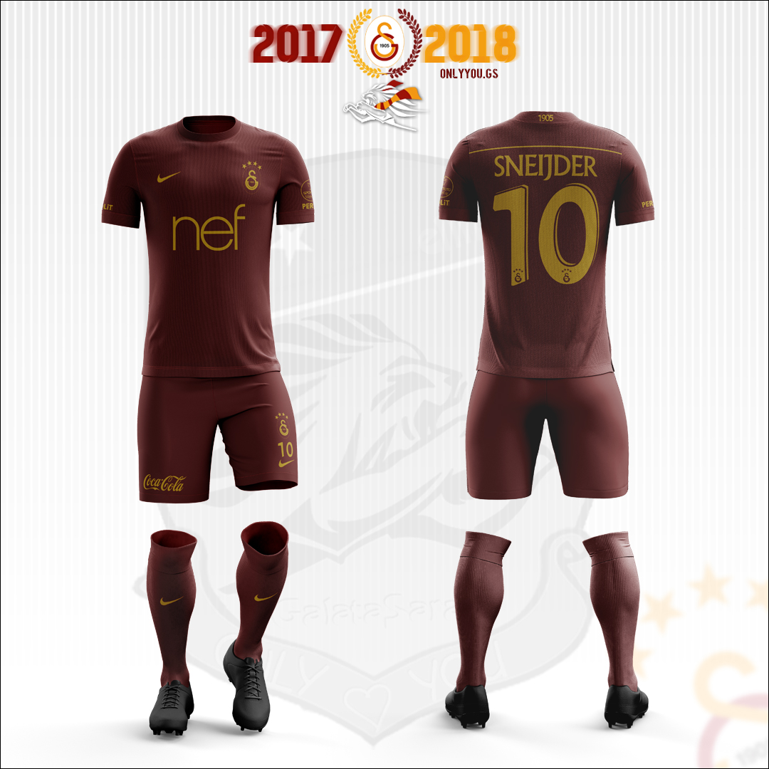 check out d6ef2 e07ef Galatasaray * Nike | 2017-2018 Third Kit