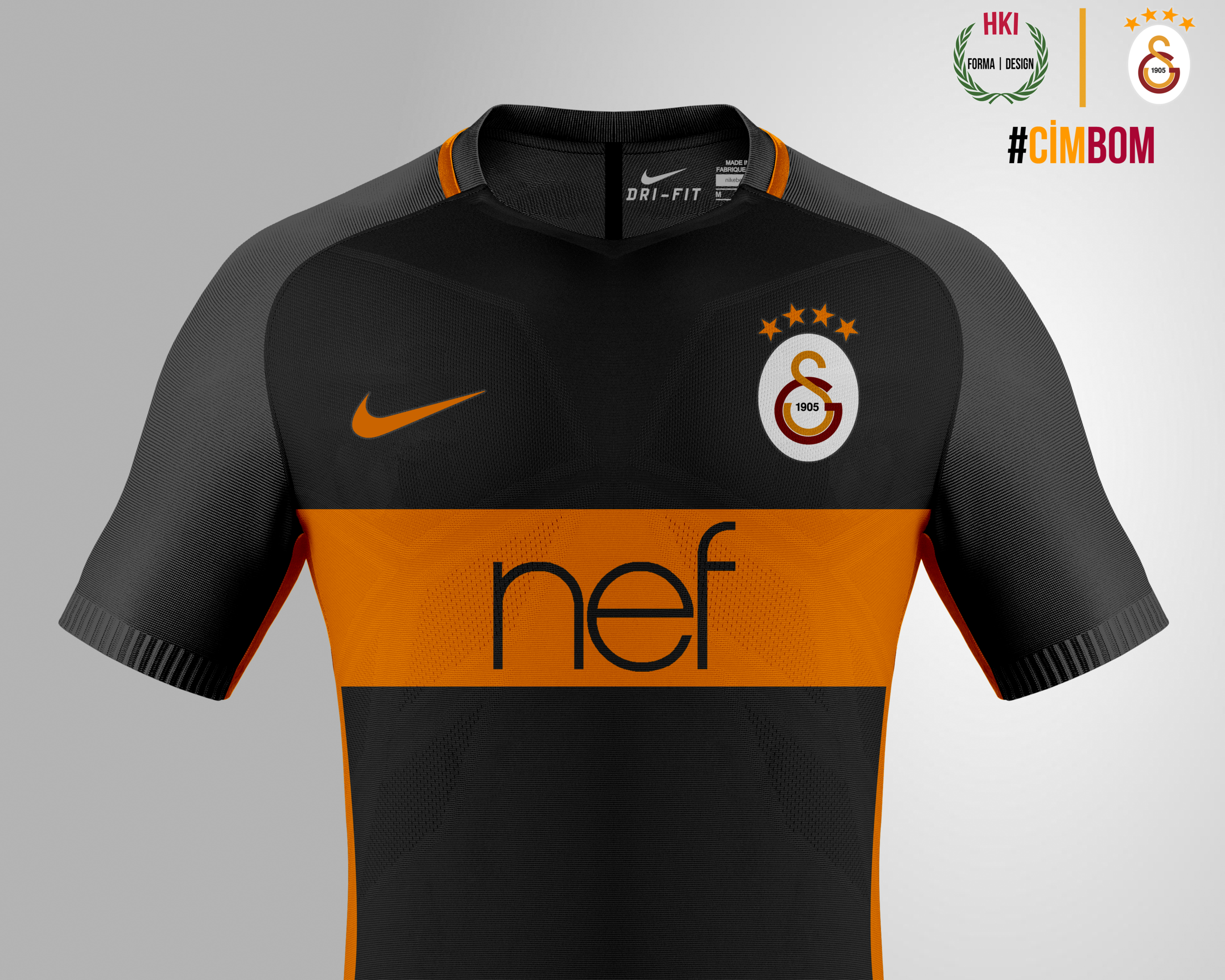brand new 37aa2 7b8b2 Galatasaray x Nike consept away kit