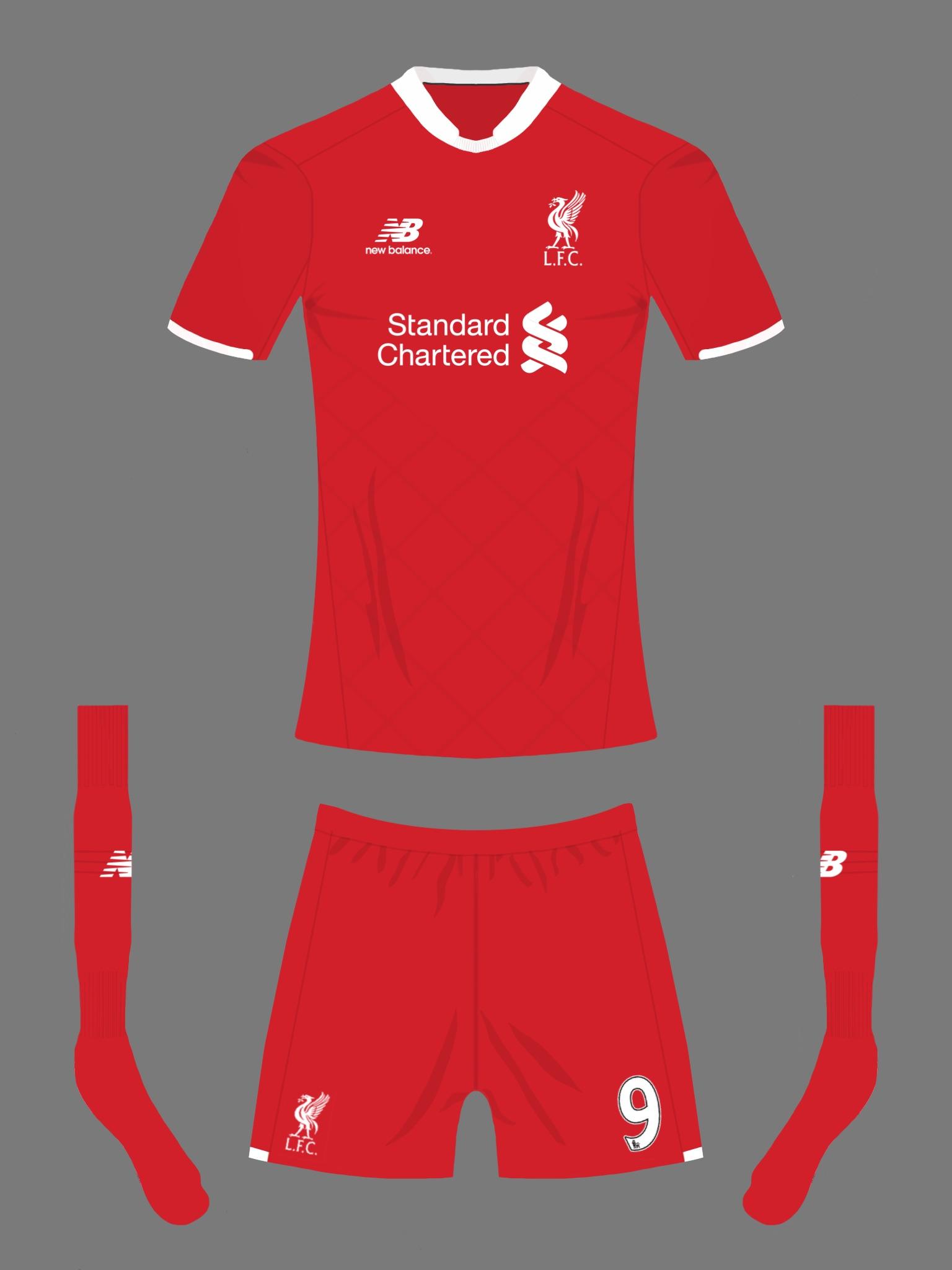 b6162f55c6f Liverpool FC new balance home kit