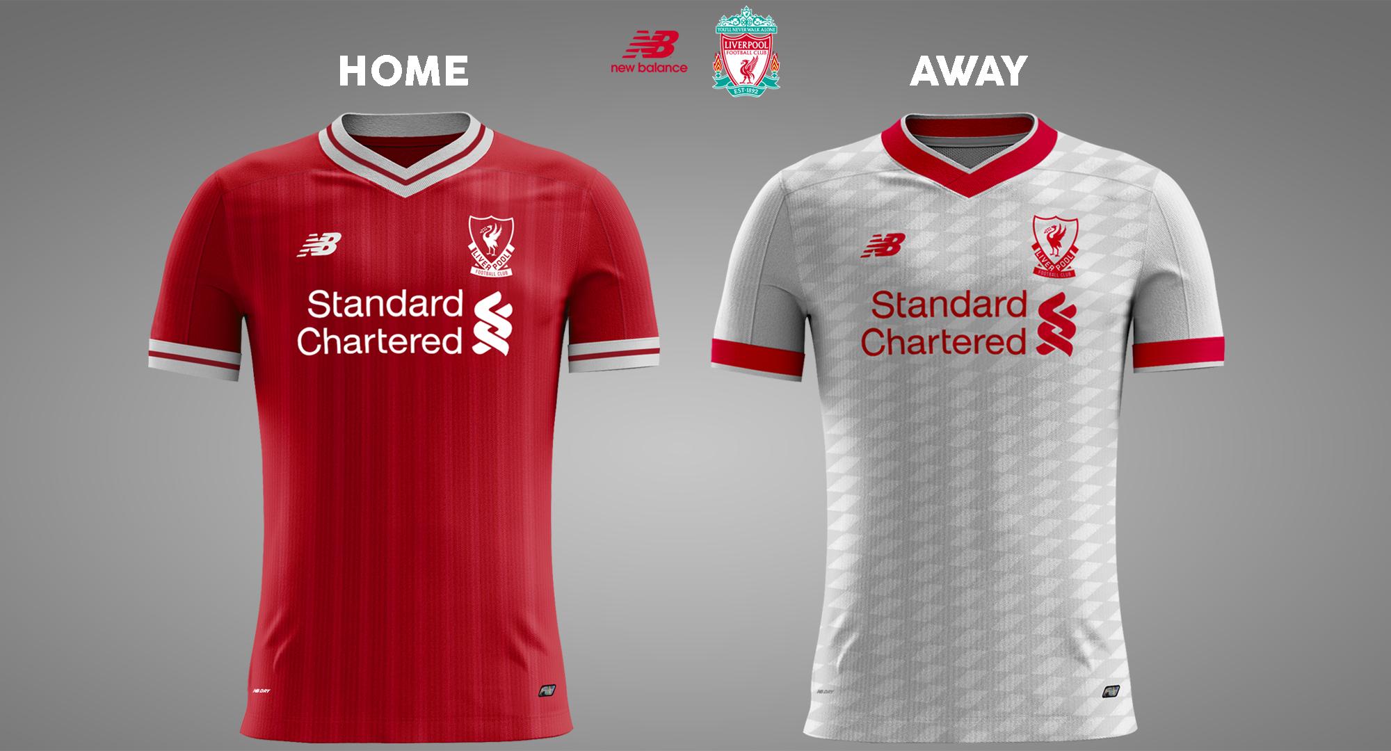 29972e0fd Liverpool Home   Away 17 18 Concept Kits