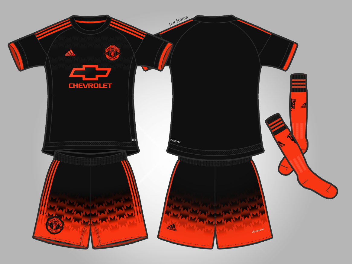 the latest a6329 d68df Manchester United FC - Third Kit